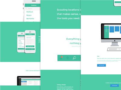 Rekke - more! clean modern web design mobile animation flat minimal ui page ux app