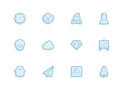 Juicicons - Over 200 Vector Icons! icon free clean set flat vector juicicons icons minimal download pack psd