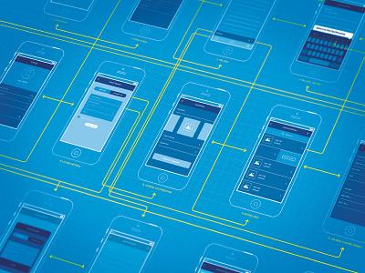 Wireframes wireframes wireframe wireframing sketch ui kit ux iphone app blueprint
