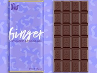 Theo, Ginger Chocolate Bar