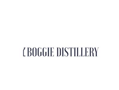 Boggie distillery logo.