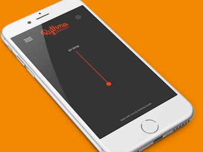 Rythmo App music tempo rythm web app mobile app rythmo metronome