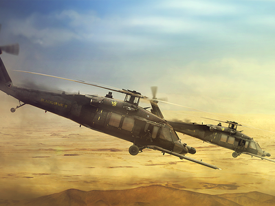 Sikorsky MH-60K Blackhawk