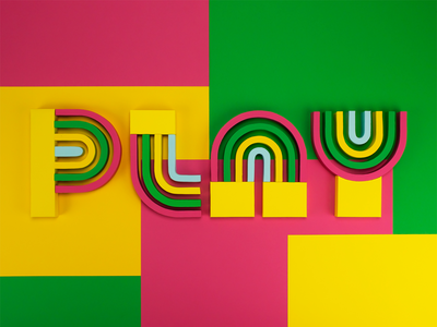 It's good for you. typography papercraft paperart