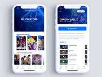 UI | Streaming App (Light Mode)