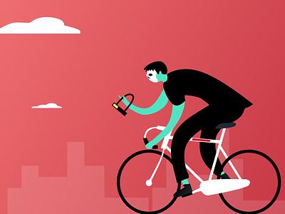 Ghost Rider art design graphic  design vector art bike character design illustration
