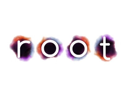 root splash ink natural organic colorful brand identity brand design identity root app design graphic design illustration vector icon typography logo branding