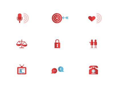 Icons icons infographic illustration media aarp graphic