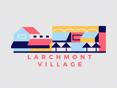 Larchmont Village larchmont village snapchat california street shop sunny los angeles filter la illustration