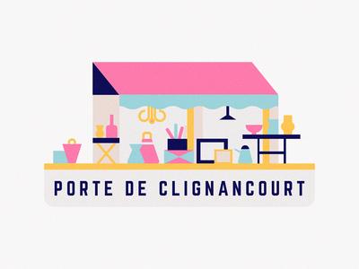 Paris street market france paris city travel filter sticker illustration snapchat