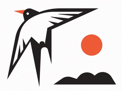 2019 sneak peek calendar 2019 calendar iceland tern print vector illustration