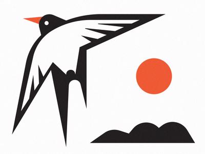 2019 sneak peek calendar 2019 calendar iceland tern print vector illustration