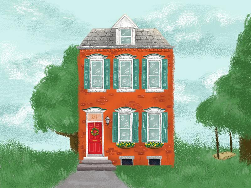 House house design house icon house illustration shot design drawing illustration