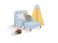 furniture illustration #2