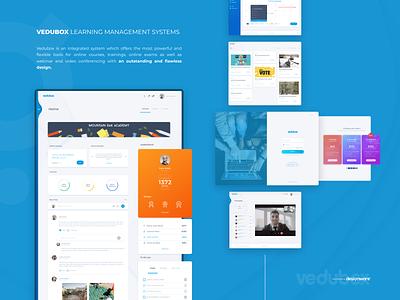 Vedubox | LMS UI/UX Design interaction lms web ux ui design