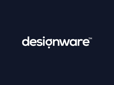 Designware | Self Branding illustration vector typography minimal logo design branding