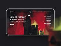 Covid-19 — Website Concept