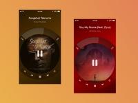 Music Player App music player ui music player app music player music dribbble ui