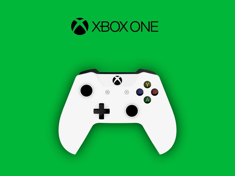 Xbox One Controller game play green controller vector xboxone xbox one xbox