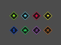 Map markers (Icons)