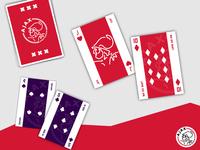 AFC AJAX Playing Cards