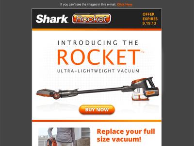 Rocket email design