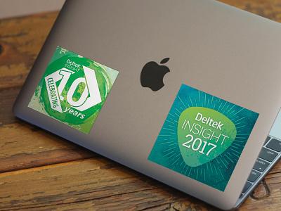 Deltek Insight 2017 Decals sticker