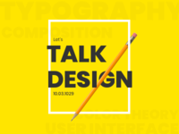 Let's talk about designing