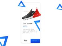 Shoe store mockup