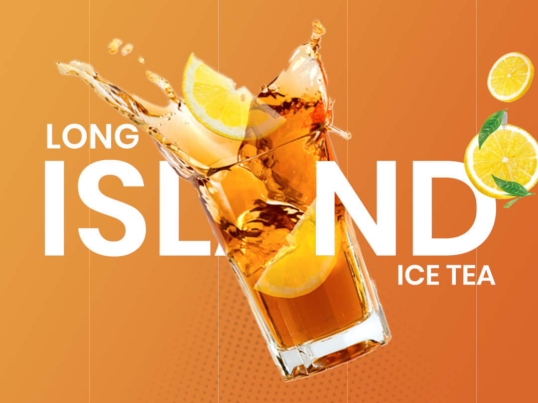Icetea designing illustration