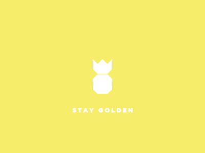 Stay Golden pineapple