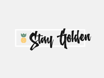Stay Golden V1.1 golden pineapple northshire