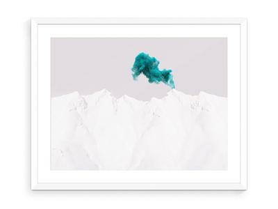 Smoke Signal smoke unsplash mountains remix