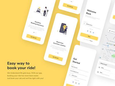 Cabzo | Concept UI Design app logo illustration vector icon ui typography branding ux design