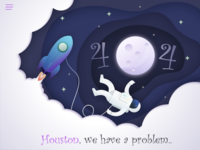 Daily UI challenge #008 --> 404 Page