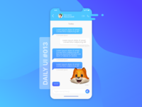 Daily UI challenge #013 --> Direct Messaging