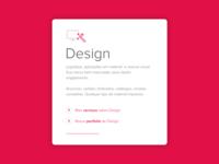 New site for agency - Services sketchapp portfolio