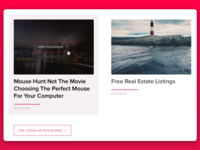 New site for agency - Blog sketchapp portfolio