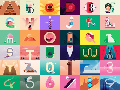 36daysoftype Edition 07 typeface typography design illustration 36daysoftype 36