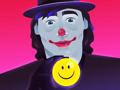 Smile...! colors art emoji smiley smile design joker illustration