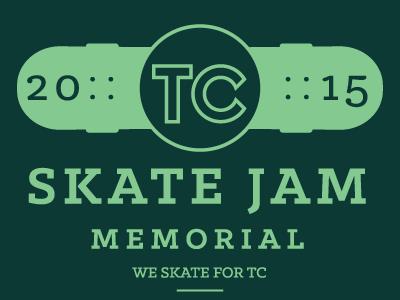 TC Skate Jam logo waterboyz skateboarding skateboard skate