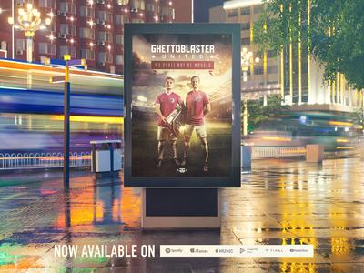 Ghettoblaster United album release campaign