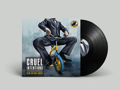 Cruel Intentions - BZRK on Daily Basis [record sleeve] housemusic albumrelease music photography photoshop albumcoverdesign albumcover artwork