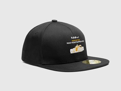Helloprint support Max Verstappen snapback stich merchandisedesign maxverstappen merchandise snapback capdesign cap