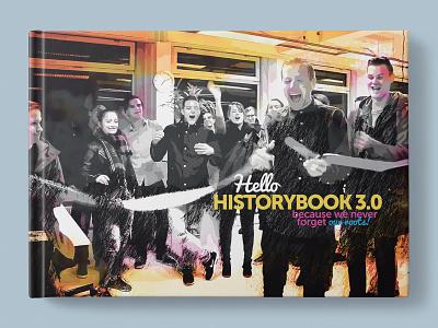 Helloprint Historybook 3.0 historybook bookcover corporate branding corporate design companybranding indesign illustrator photoshop boekdrukkunst bookart bookcoverart bookcoverdesign coverart bookdesign book