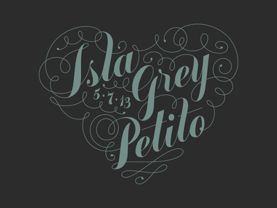 Isla Grey Petito