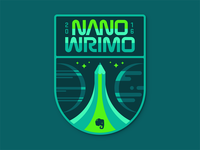 NaNoWriMo Space Badge