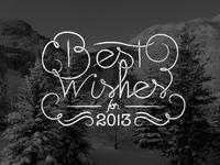 Best Wishes 2013