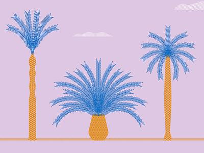 Palm trees 2 art design graphic design artwork illustration palm tress