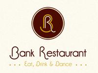 Bank Restaurant logo